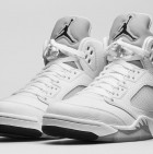white-metallic-jordan-5-shoes-1