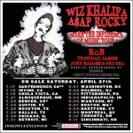 Wiz Khalifa and A$ap Rocky are Touring Together.