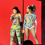 "Beyonce and Nicki ""Flawless"" in Paris"
