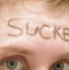 sucker-forehead-tattoo