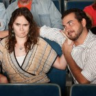 Annoyed Girlfriend In Theater
