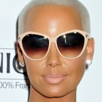 Amber Rose Dyed Her Hair Blue!