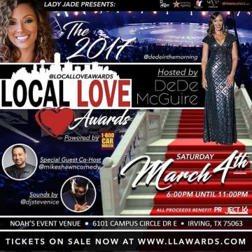 Lady Jade's Local Love Awards