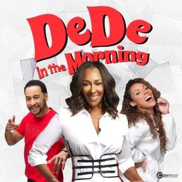 Comedian Tony Roberts with DeDe in the Morning