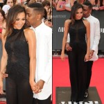 Big-Sean-and-Naya-Rivera-Red-Carpet
