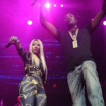 What's poppin' w/ Meek Mill and Nicki Minaj professing their love on stage?