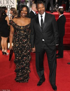 Denzel and Oliva Washington