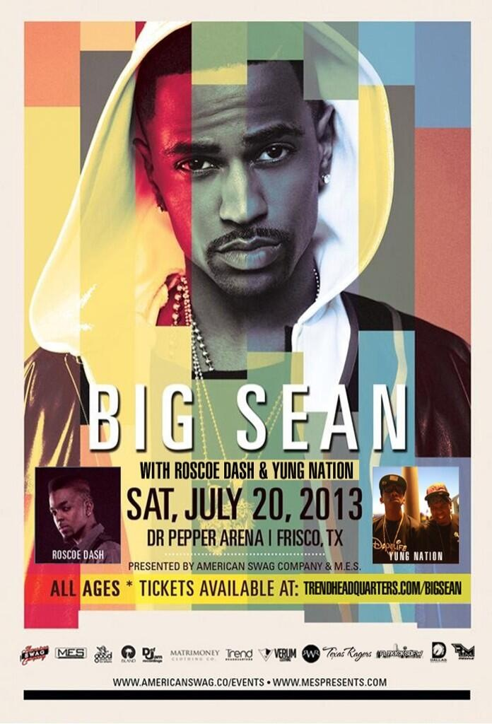 Big Sean Roscoe Yung Nation poster