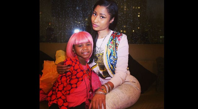 Nicki minaj grants a wish for five year old cancer patient courtesy nicki minaj via instagramnicki minaj took time out of her busy scheduled to meet with five year old damiyah telemaque nelson who was diagnosed m4hsunfo