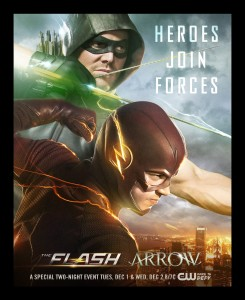 Flash and Arrow Crossover 8X10