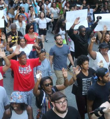 Dallas Protest Rally- July 7th - K104 FM Hip Hop and RnB