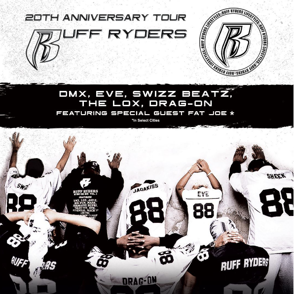 RUFF RYDERS 20TH ANNIVERSARY TOUR |