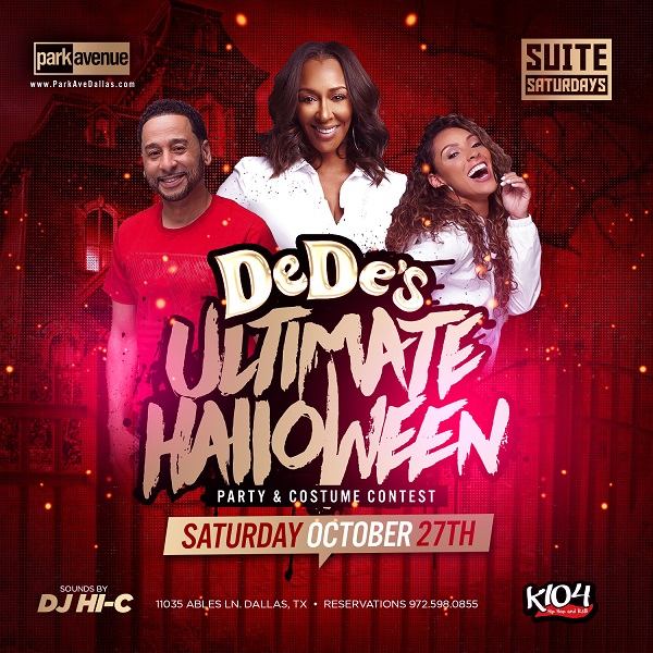 K104 Halloween Party 2020 DeDe's Ultimate Halloween Party |